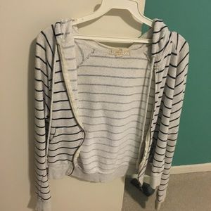 FOREVER 21 STRIPED JACKET
